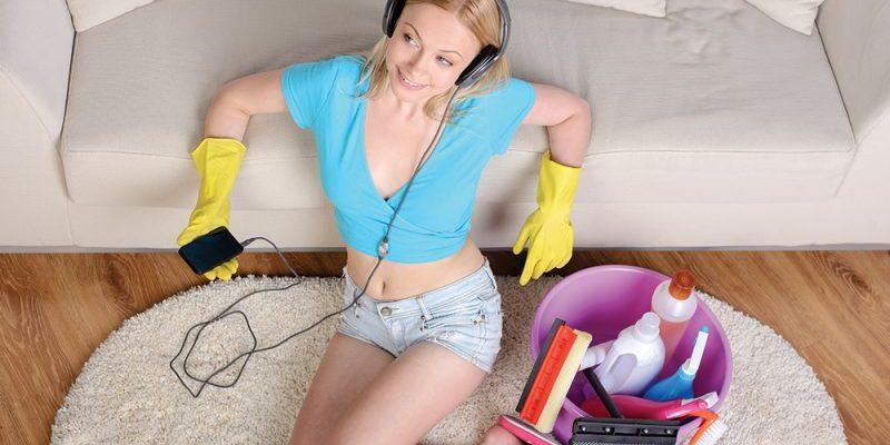 Faire le ménage en musique